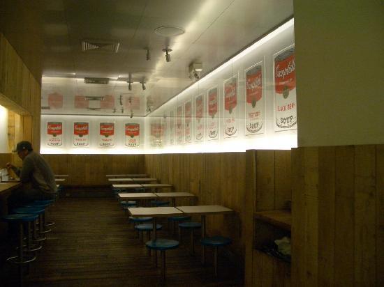 Pop Burger: 店内②