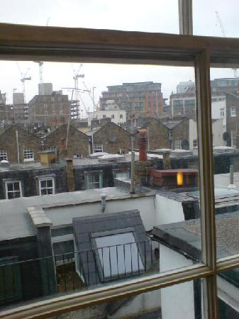 Orchard Hotel: view from the old window