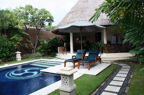Dusun Villas Bali: Our own private villa with pool.