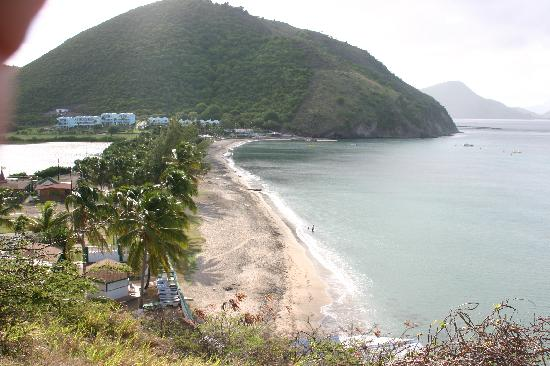 St. Kitts and Nevis: Frigate Bay Beach, the lime on Fridays