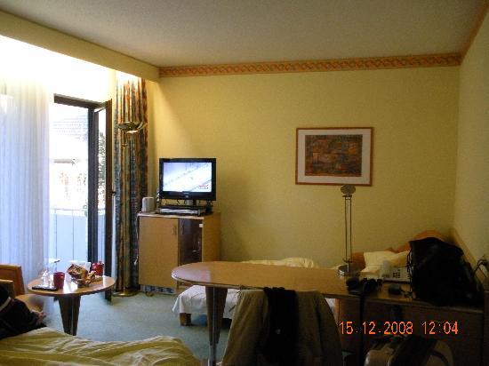 Atrium Hotel Mainz: the room
