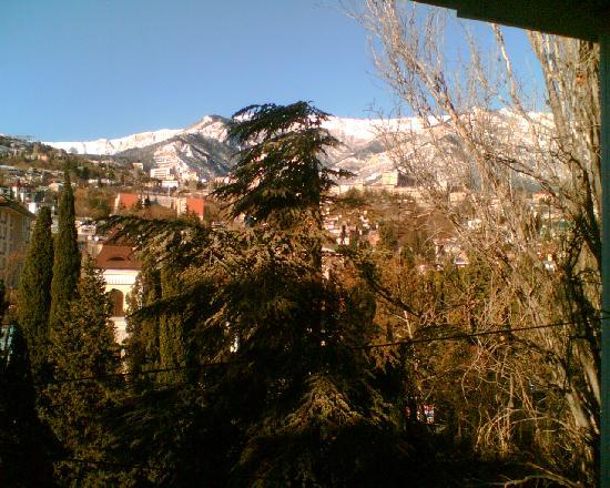 Yalta: View from Flat window
