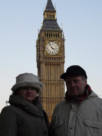The Levin: Majka and Mirek before Big Ben