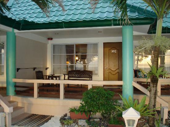 Hotel Isla Boracay-South: Our veranda