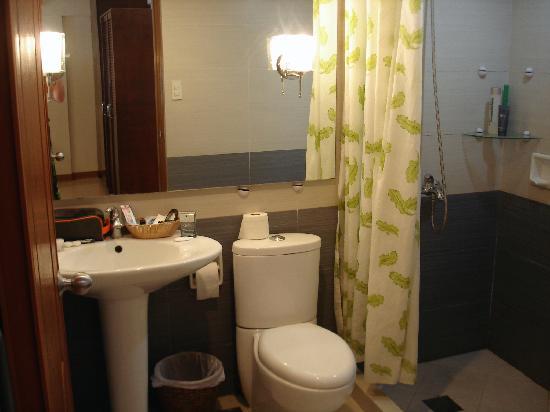Hotel Isla Boracay-South: The bathroom