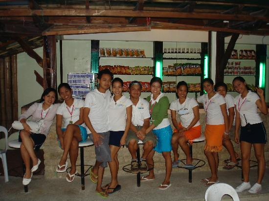 Hotel Isla Boracay-South: The friendly staff !