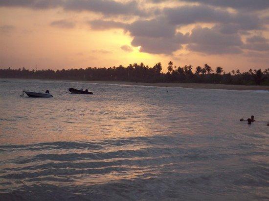 Hotel Eco Atlântico : atardecer en Praia do forte