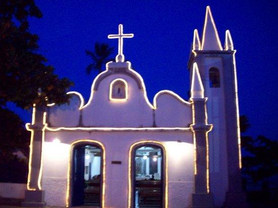 Hotel Eco Atlântico : capilla de San Francisco, emblema
