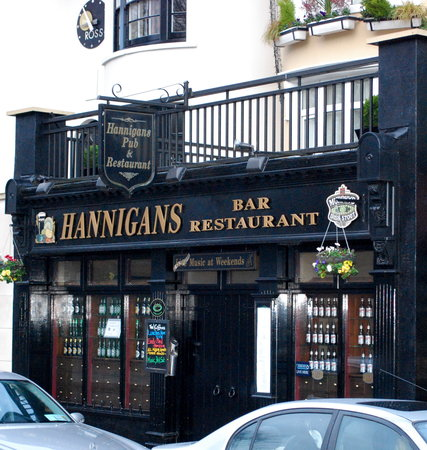 Hannigan's Bar and Restaurant: Hannigan's restaurant Killarney