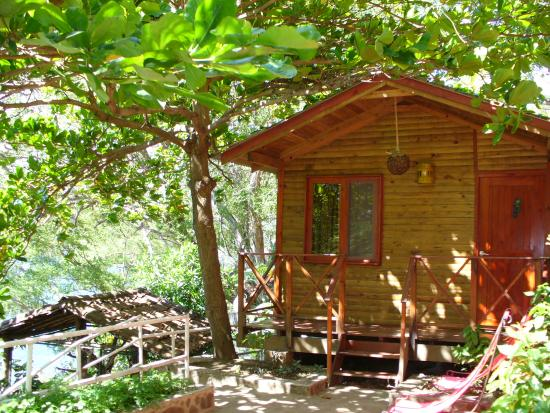 La Laguna de Apoyo, Nicaragua: The cabin we stayed in at La Abuela