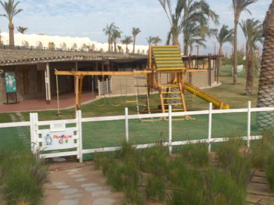 Le Meridien Dahab Resort: Secure and well maintained kids area