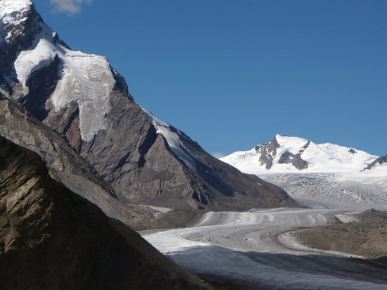 Ladakh, India: drang-drung glacier