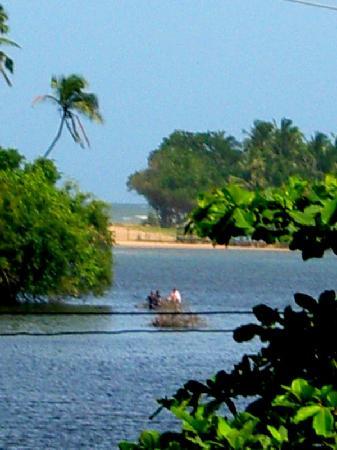 SANKAREST Villa: View over the lagoon