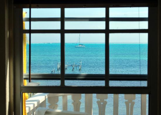 Sailwinds Beach Suites: View from the living room