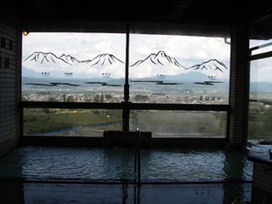 Obuse-machi, Giappone: 内風呂です