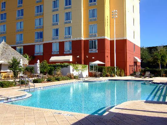 Pool Picture Of Hilton Garden Inn Orlando International Drive