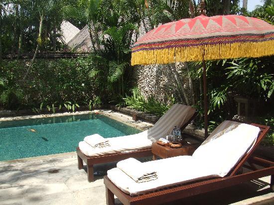 The Oberoi Bali : private pool