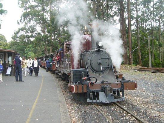 Belgrave, أستراليا: 機関車全景