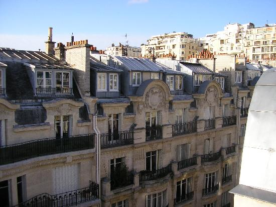 Hotel Sezz Paris: View from the front window