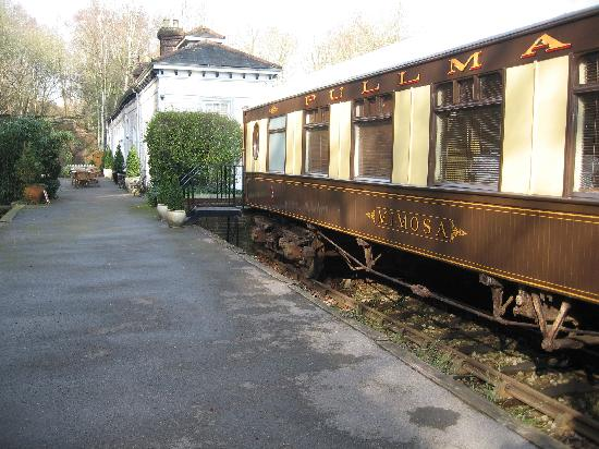 Petworth, UK: Viw from carriages to the old station house