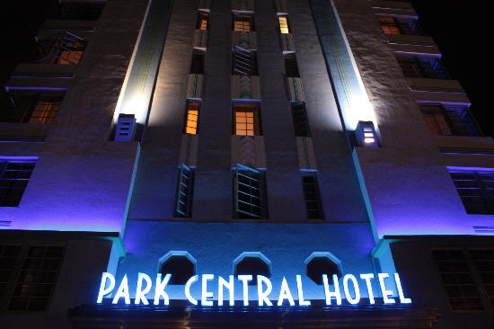 The Park Central: Miami - Parc Central Hotel de nuit