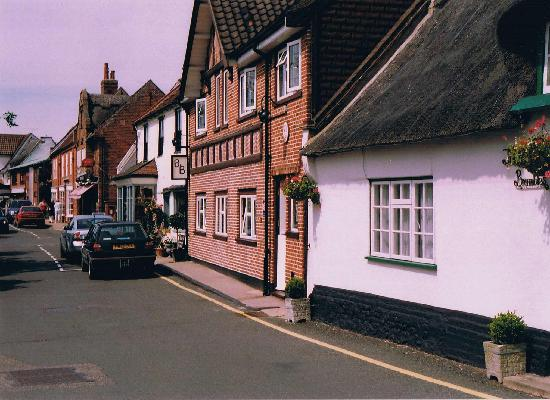 The Moorhen Bed & Breakfast: View from the front