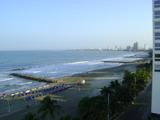 Hotel Regatta Cartagena: vista desde la ventana del dormitorio matrimonial
