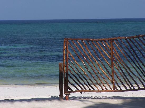 Villa Dida: uscita sulla spiaggia