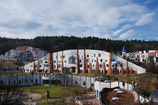 Rogner Bad Blumau: Hotelanlage