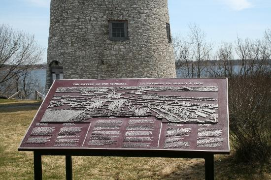 Battle of the Windmills Historic Site: Battle Plan