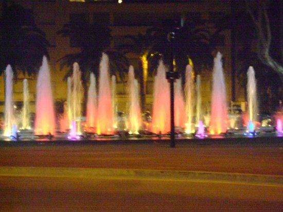 Park Hotel : Fountains, Perpignan Palais de Congres