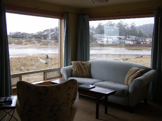 Living Room Picture Of Sea Sprite On The Estuary Cannon Beach
