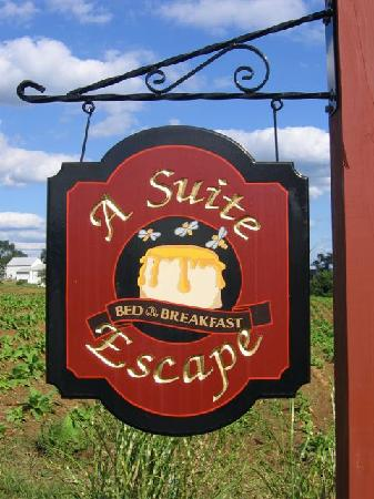 A Suite Escape: When you see this sign... you're home!