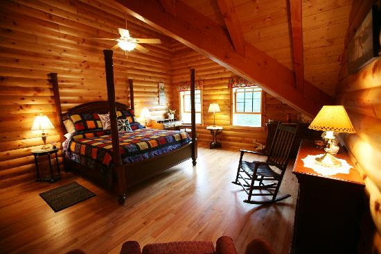 Glade Valley Bed and Breakfast: One of the rooms decorated to a national park theme
