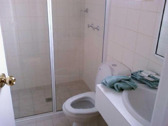 Lincoln Cottage Motor Inn: Bathroom