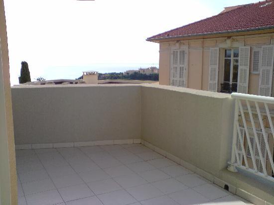 Adagio City Aparthotel Monte Cristo : la terrasse