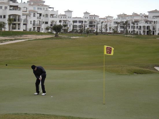 Hacienda Riquelme Golf Resort : campo de golf hacienda riquelme
