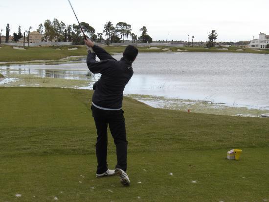 Hacienda Riquelme Golf Resort: foto campo de golf