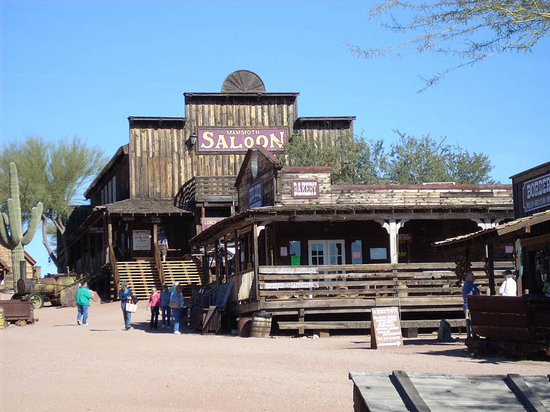 Apache Junction, AZ: Goldfield saloon