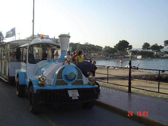 Intertur Hotel Miami Ibiza: Es Cana Road Train