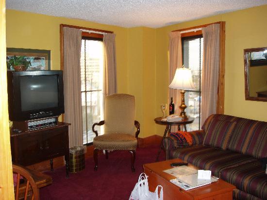 Hotel de la Monnaie: Living Room Suite