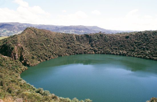 Bogota, Colombie : Laguna  Guatavita, leggenda Eldorado