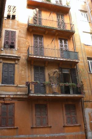 B&B Savoia: The inner courtyard