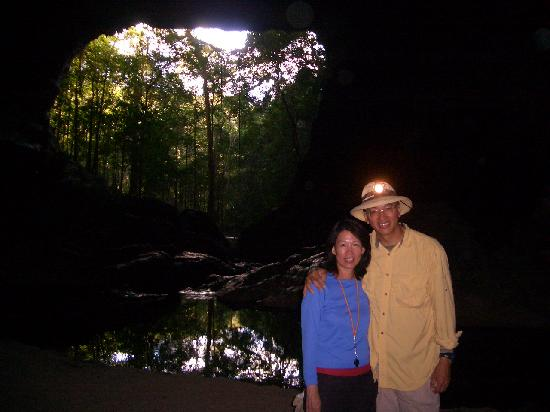 Barton Creek Cave: Flashlight becomes a star in this multi-football size cave in Belize