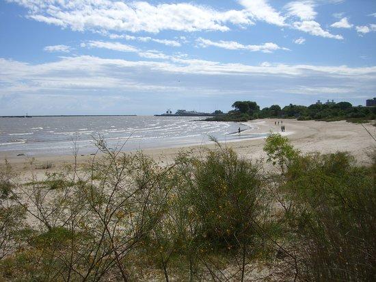Colonia del Sacramento, Uruguay: Playa Ferrando