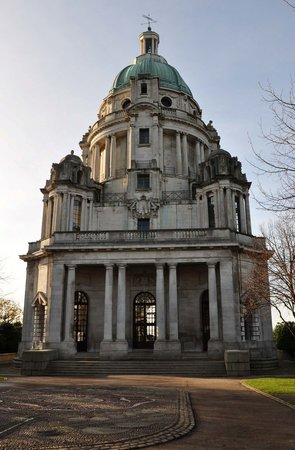 Région des lacs, UK : Ashton Memorial, Williamson Park, Lancaster
