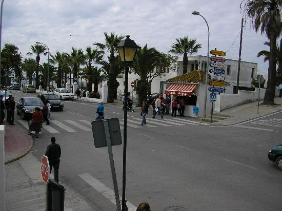 Hotel La Janda: Street in front of the hotel II