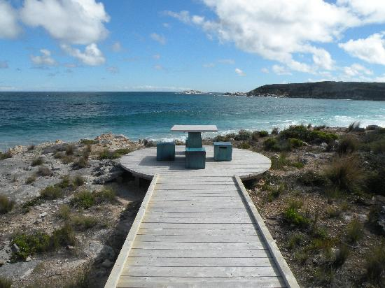 Southern Ocean Lodge: quiet spot at SOL