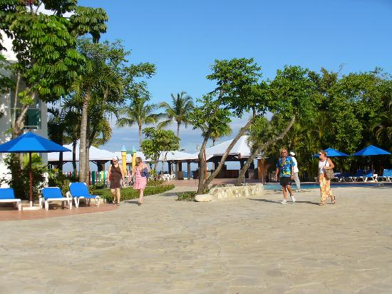 Grand Paradise Playa Dorada: view