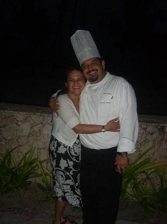 Majestic Colonial Punta Cana: Excellent Chef!!